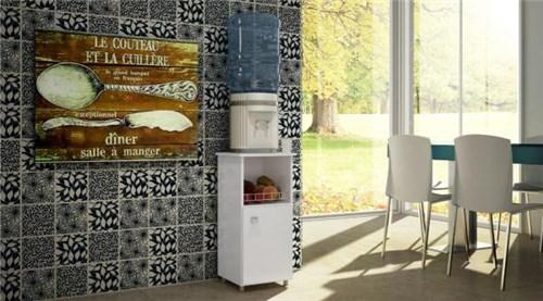 Balcão Fruteira Milena com Porta - Branco - Art In Móveis