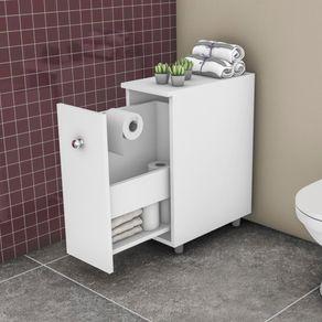 Balcão Movelbento para Banheiro Branco