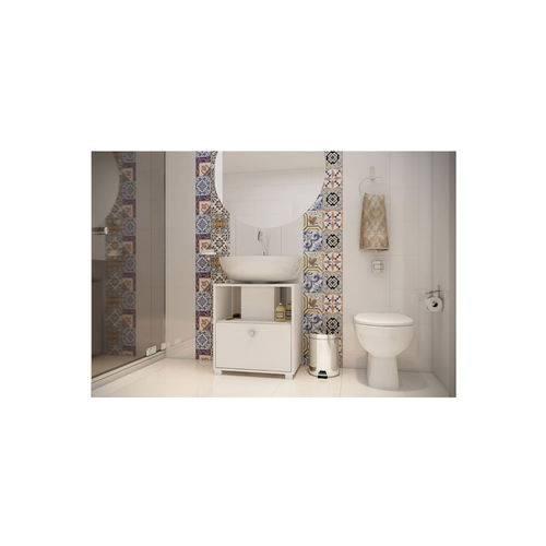 Tudo sobre 'Balcão para Banheiro 02 Branco BRV Móveis'