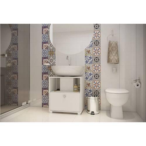 Balcão para Banheiro Noruega Branco