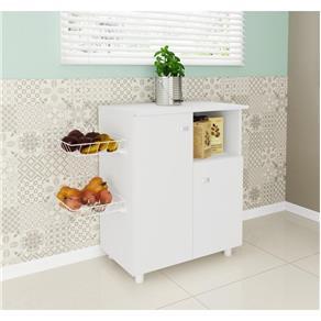 Balcão para Cozinha Tecno Mobili BF3208 2 Portas - Branco