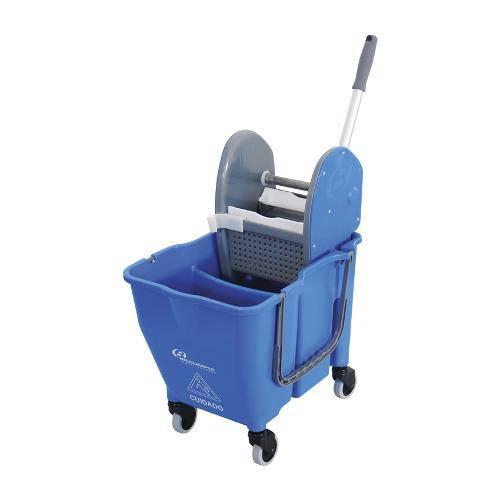 Balde Espremedor Doblo 30 Litros Azul Bralimpia