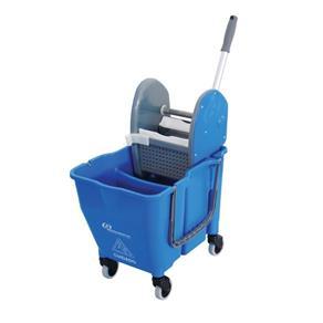 Balde Espremedor Doblo 30 Litros Azul Ny109 Bralimpia