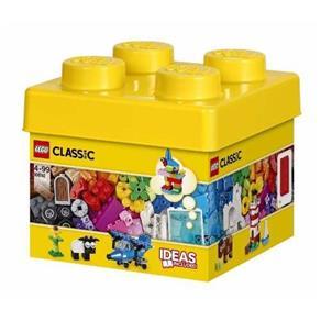 Balde Lego 10692 Peças Criativas 221 Pçs C/ Livro de Idéias - Amarelo