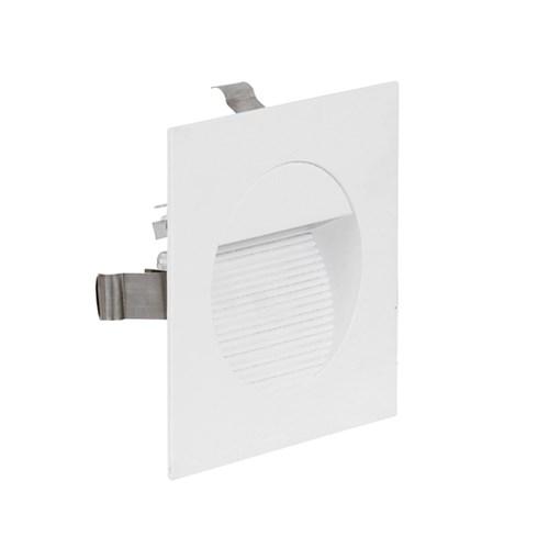 Balizador LED de Parede Embutir 5W Luz Neutra Metal Técnica