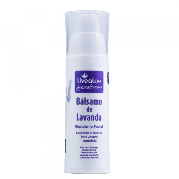 Balsamo de Lavanda Hidratante Facial de 30ml Livealoe