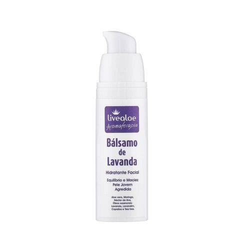 Bálsamo Facial Natural de Lavanda 30ml – Livealoe
