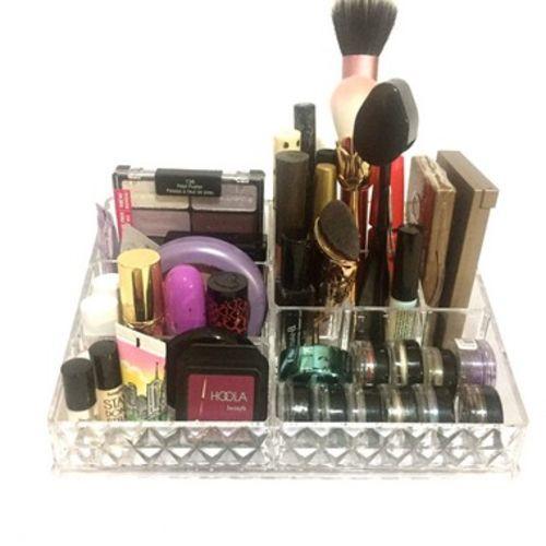 Bandeja Organizadora Suporte de Acrilico Porta Maquiagem Organizador