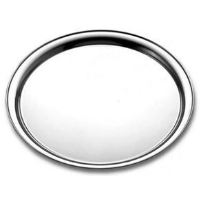 Bandeja Redonda Aço Inox 35,2cm - Tramontina