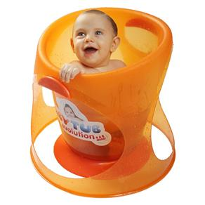 Banheira Babytub Evolution - Laranja - Baby Tub