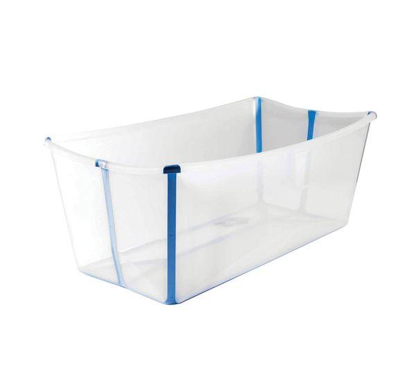 Tudo sobre 'Banheira Flexível Transparente Stokke'