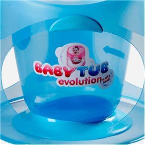 Banheira Ofurô Baby Tub Evolution - de 0 à 8 Meses - Azul