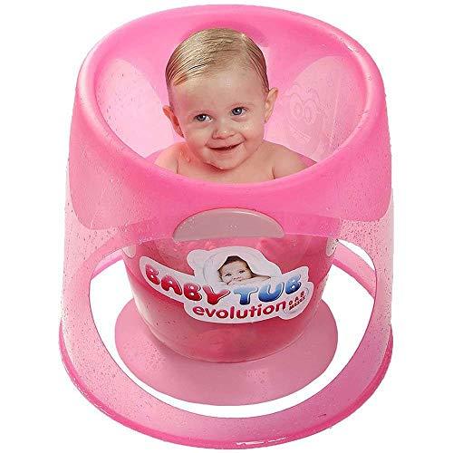 Banheira Ofurô Baby Tub Evolution - de 0 à 8 Meses - Rosa