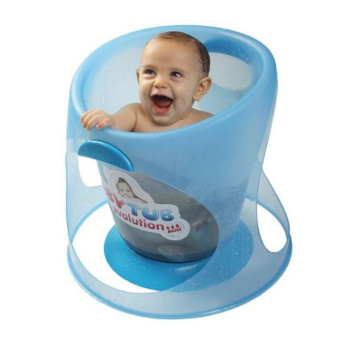 Banheira para Bebês Evolution Azul - Baby Tub