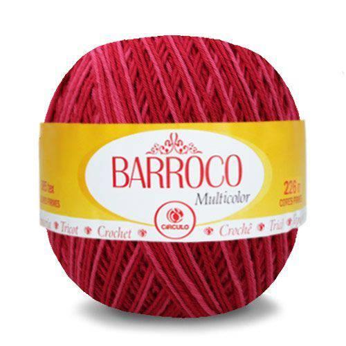 Tudo sobre 'Barbante Barroco Multicolor 200g Círculo'