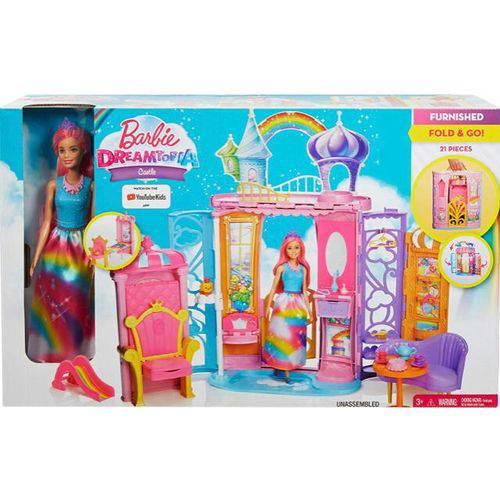 Barbie Castelo de Arco Íris Frb15 Mattel Toy