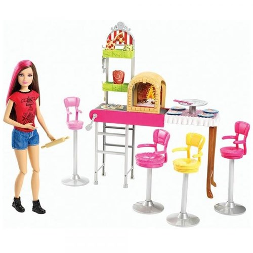 Barbie Family Pizzaria 3 é Demais - Mattel