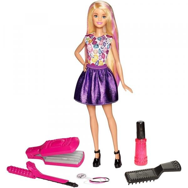 Barbie Fashion Ondas e Cachos - Mattel