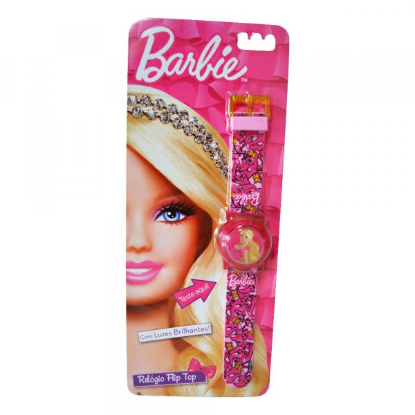 Barbie Relógio Flip Top - Fun Divirta-Se