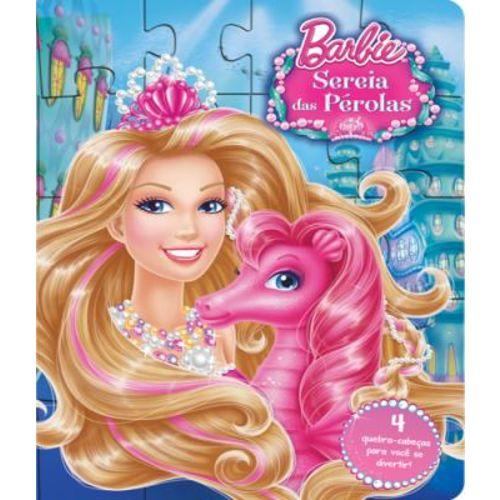 Barbie - Sereia das Perolas - Livro Quebra-cabeca