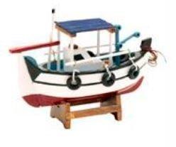 Tudo sobre 'Barco Pesqueiro de Madeira Decorativo'