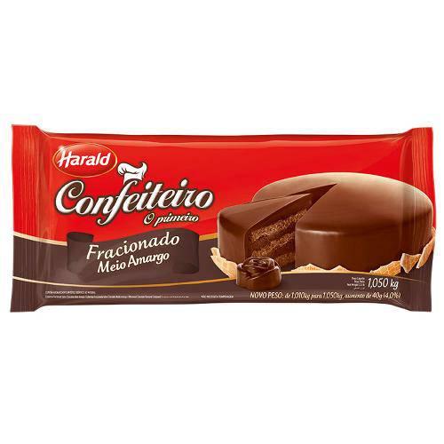 Tudo sobre 'Barra de Chocolate Confeiteiro Amargo 1,050kg - Harald'