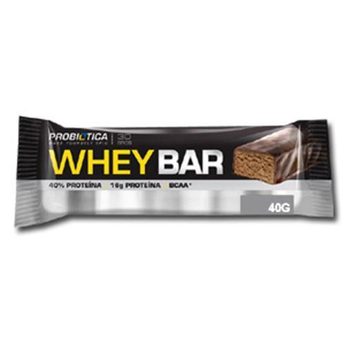 Barra de Proteína Whey Bar Chocolate 40g BR PROTEINA WHEY BAR 40G CHOC