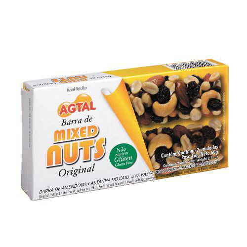 Tudo sobre 'Barra Mixed Nuts C/2 Original - Agtal'