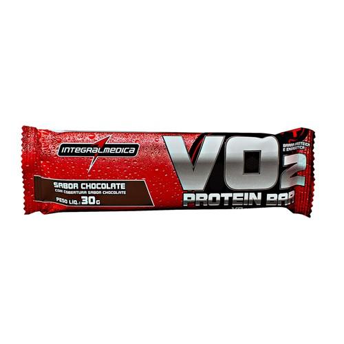 Barra Proteina VO2 Protein Bar Integralmédica Sabor Chocolate com 30g