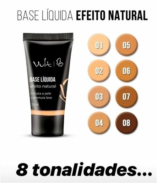 Base Liquida Efeito Natural Vult