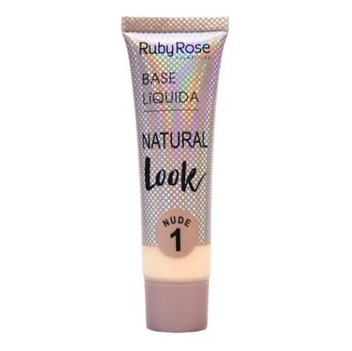 Base Líquida Natural Look Nude 1 - Ruby Rose