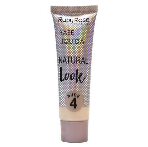 Base Líquida Natural Look Nude 4 Ruby Rose