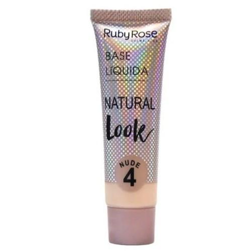 Base Líquida Natural Look Nude 4 - Ruby Rose