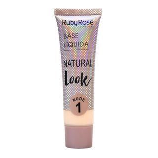 Base Líquida Natural Look Nude Ruby Rose L1