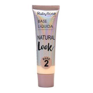 Base Líquida Natural Look Nude Ruby Rose L2