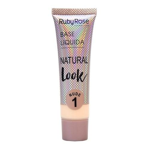 Base Liquida Natural Look Nude - Ruby Rose (NUDE 01)