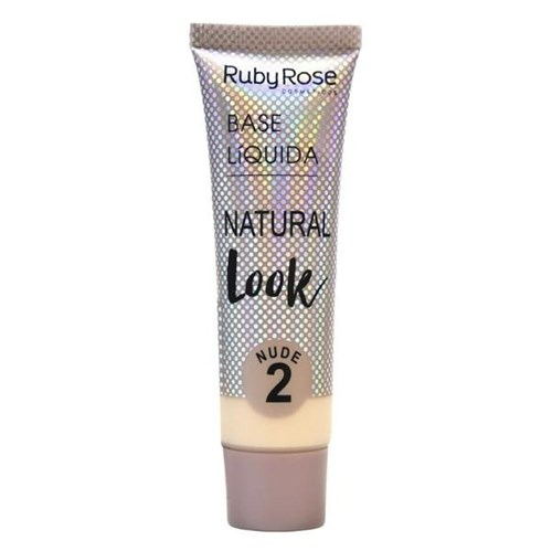 Base Líquida Natural Look Nude 2 Ruby Rose