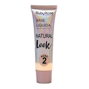 Base Líquida Natural Look Ruby Rose Nude 02
