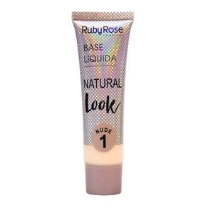 Base Líquida Natural Look Ruby Rose Nude 01
