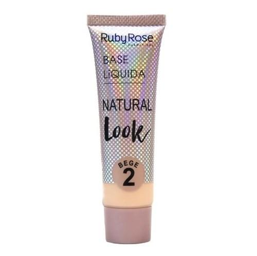 Base Líquida Natural Look - Ruby Rose (Nude 2)