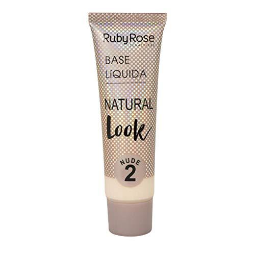 Base Líquida Ruby Rose Natural Look Nude 2 HB-8051-29ml