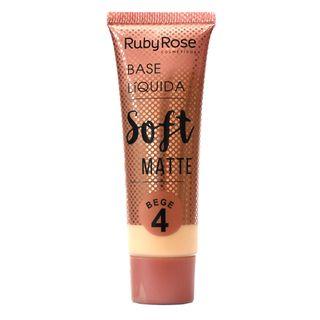 Base Líquida Ruby Rose Soft Matte Bege L4
