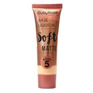 Base Líquida Ruby Rose Soft Matte Bege L5
