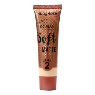 Base Líquida Ruby Rose Soft Matte Bege L2