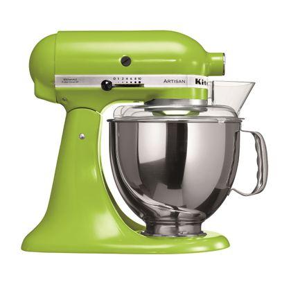Tudo sobre 'Batedeira Stand Mixer Artisan - Green Apple 127V'