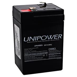 Bateria 6V 4,5A UP645SEG - Unipower
