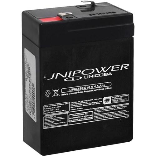 Bateria 6V 4,5Ah - Up645Seg - Unipower