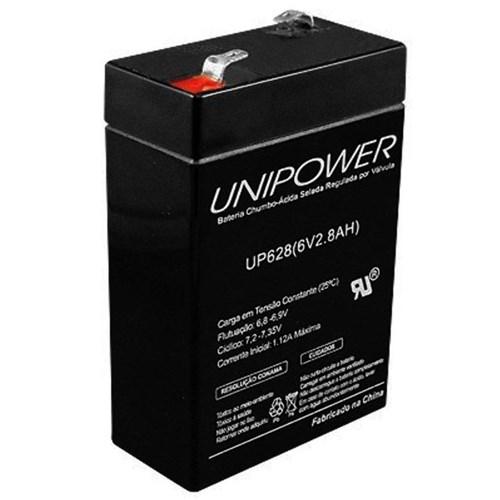 Bateria 6V 2,8A Up628 - Unipower
