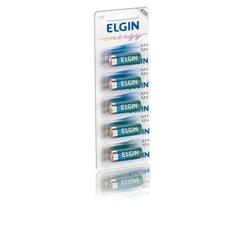 Bateria A23 (12V) Cartela C/5 - Elgin