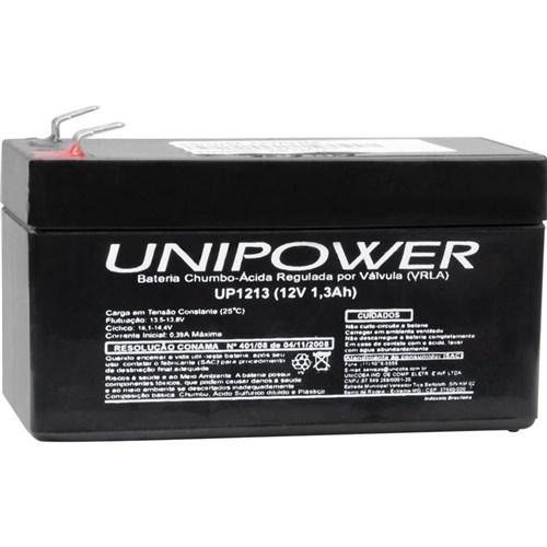 Bateria Chumbo-Ácida Selada 12V/1.3A Up1213 Unipower